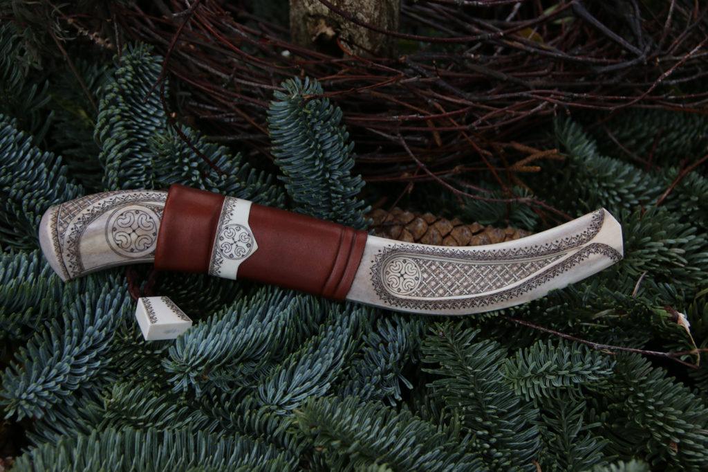 JSC Knife #308(a) - Elegant Reindeer