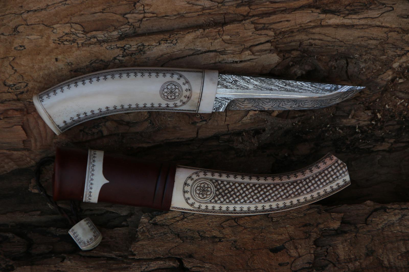JSC Knife #328(e) - The Big Reindeer
