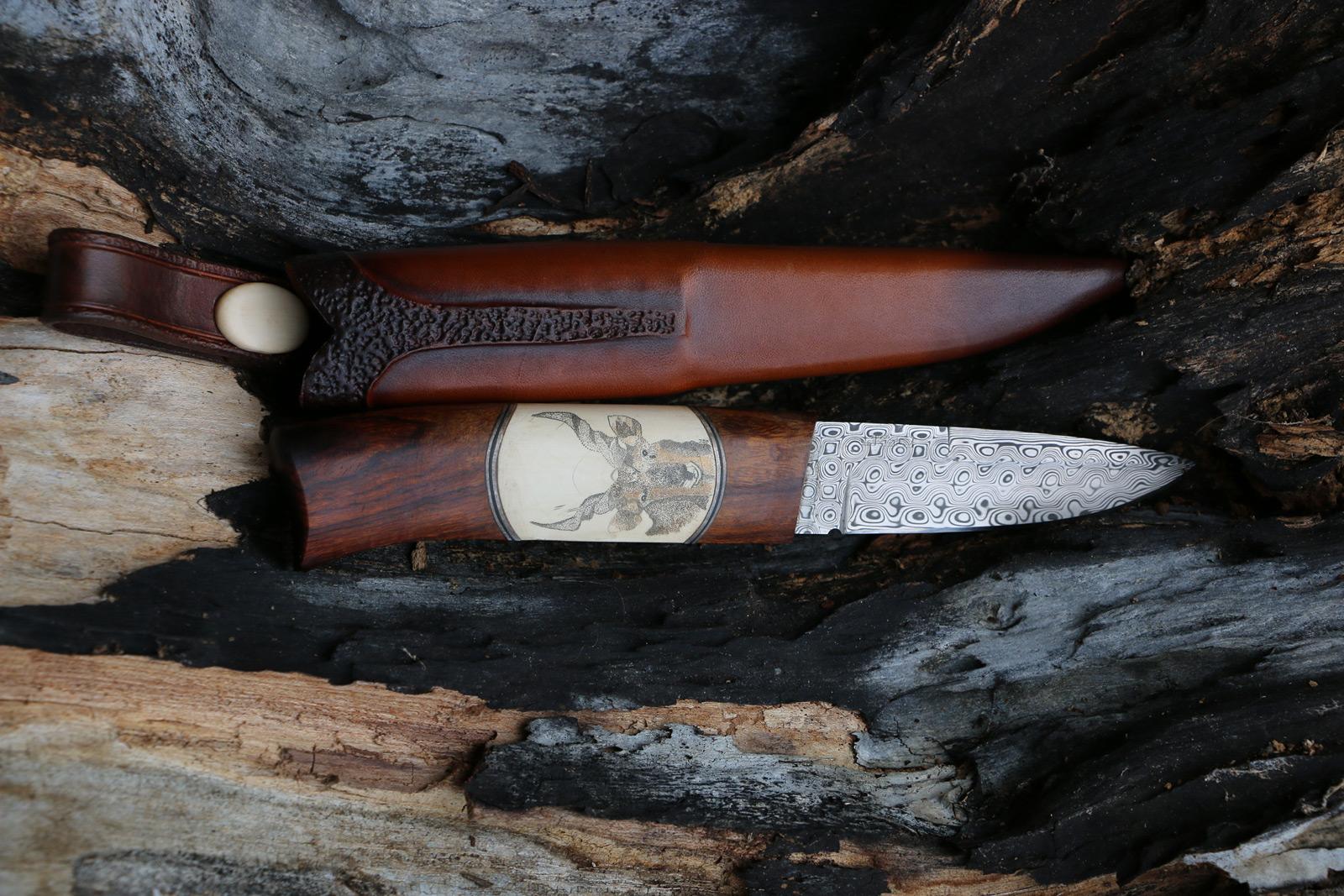 JSC Knife #372(b) - The Savannah Gazelles