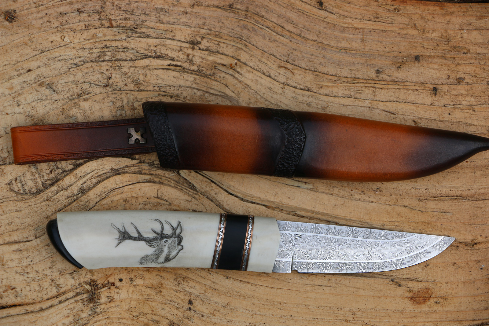 JSC Knife #354(b) - Animals of the Wood